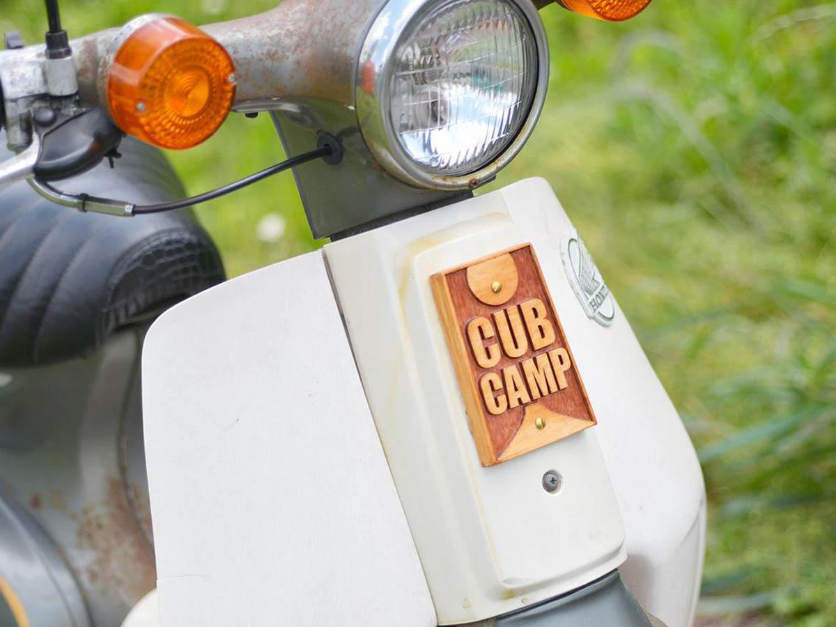 バイクのフロントエンブレム
