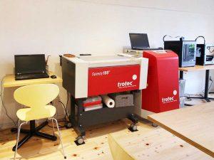 自然エネルギー100%の「ハチドリ電力」でレーザー加工の制作をはじめました。